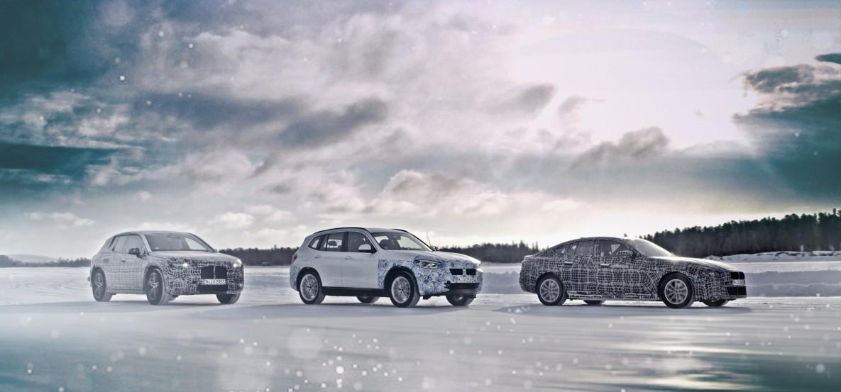 719fae751c Elektromobily v extrémnych podmienkach  modely BMW iX3